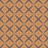 Vectorillustratie abstract ornament van gelijkzijdige driehoeken van bruine schaduwen van donkergrijze achtergrond vector illustratie