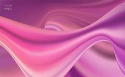 Vectorillustratie: Abstracte vloeibare golvende Achtergrond Modern Dekkingsmalplaatje vector illustratie
