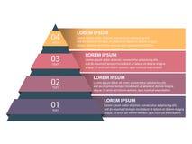 Vectorillustratie de bedrijfs van Infographics Royalty-vrije Stock Afbeelding