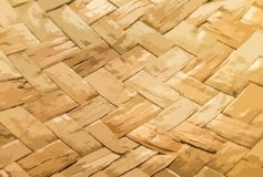 Vectorillustratie de textuur van het geweven stro stock illustratie