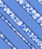 Vectorillustratie met mozaïek Royalty-vrije Stock Afbeeldingen