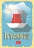 Vectorillustratie Turkse thee Royalty-vrije Illustratie