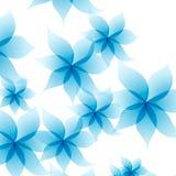 Vectorillustratie van bloemenpatroon Royalty-vrije Stock Foto's