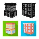 Vectorillustratie van bouw en de bouwsymbool Reeks van bouw en landgoed vectorpictogram voor voorraad vector illustratie