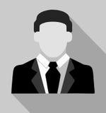 Vectorillustratie van de modieuze mens in kostuum Royalty-vrije Stock Fotografie