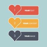 Vectorillustratie van een banner voor het Web Stock Fotografie