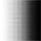 Vectorillustratie van een halftone patroon royalty-vrije illustratie