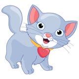 Vectorillustratie van een kat Stock Foto's
