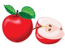 Vectorillustratie van een rood stock illustratie