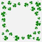 Vectorillustratie van een St Patrick ` s Dagachtergrond Stock Fotografie