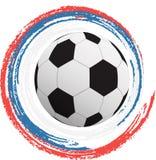 Vectorillustratie van een voetbalbal Royalty-vrije Stock Fotografie