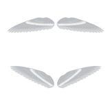 Vectorillustratie van engelenvleugels Royalty-vrije Stock Foto