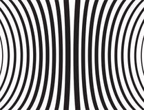 Vectorillustratie van gebogen zwarte lijnen op witte achtergrond royalty-vrije illustratie