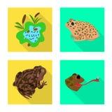 Vectorillustratie van het wild en moerassymbool Reeks van het wild en reptielvoorraad vectorillustratie vector illustratie