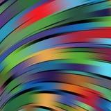 Vectorillustratie van kleurrijke abstracte achtergrond Stock Afbeelding