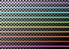 Vectorillustratie van neonnet, op transparante achtergrond Stock Foto's