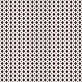 Vectorillustratie van netwerk, rooster Zwart-wit naadloos geklets Stock Afbeeldingen