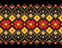 Vectorillustratie van Oekraïens volks naadloos klopje Royalty-vrije Stock Afbeeldingen