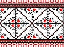 Vectorillustratie van Oekraïens volks naadloos klopje royalty-vrije illustratie