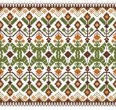 Vectorillustratie van Oekraïens volks naadloos klopje Royalty-vrije Stock Afbeelding