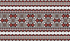 Vectorillustratie van Oekraïens volks naadloos klopje Royalty-vrije Stock Foto's