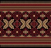 Vectorillustratie van Oekraïens volks naadloos klopje Royalty-vrije Stock Fotografie