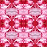 Vectorillustratie van roze patroon Stock Afbeeldingen