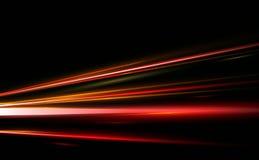 Vectorillustratie van samenvatting, wetenschap, futuristisch, energietechnologieconcept Beeld van lijnen met binnen licht, snelhe vector illustratie