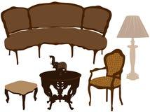 Vectorillustratie van silhouetten van verschillend aangaande Royalty-vrije Stock Afbeelding