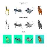 Vectorillustratie van stuk speelgoed en wetenschapssymbool Reeks van stuk speelgoed en stuk speelgoed voorraad vectorillustratie stock illustratie