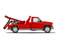Vectorillustratie van Tow Truck Stock Foto