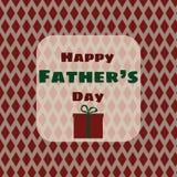Vectorillustratie van Vader` s Dag Stock Afbeeldingen