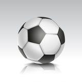 Vectorillustratie van Voetbal/Voetbal Stock Foto's