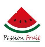 Vectorillustratie van watermeloen Royalty-vrije Stock Afbeelding