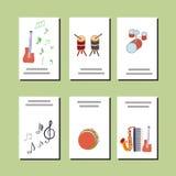 Vectorillustratie voor muzikale gebeurtenissen vector illustratie