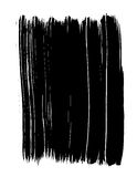 Vectorized Black Paint Strokes Royalty Free Stock Image