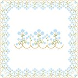 Vectorized border design Royalty Free Stock Images