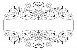 vectorized designelement Royaltyfri Bild