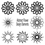 Vectorized flower Stock Photo