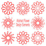 Vectorized flower Royalty Free Stock Photo