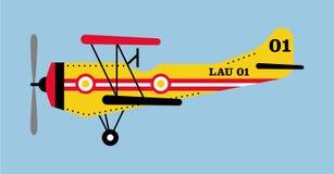 Vectorized Flugzeug Lizenzfreie Stockfotos