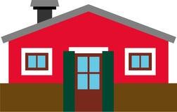 Vectorized generisches Gebäude Stockfoto