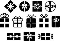 Vectorized gifts Royalty Free Stock Photo