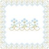 vectorized kantdesign Royaltyfria Bilder