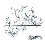Vectorized ornaments, design elements Royalty Free Stock Photo