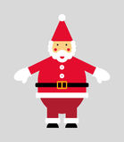Vectorized Santa Claus Stock Images