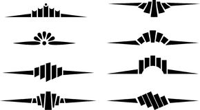 vectorized scroll stock illustrationer