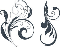 Vectorized Scroll Design Royalty Free Stock Photos