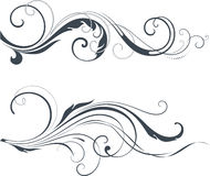 Vectorized Scroll Design Royalty Free Stock Image