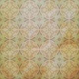 Vectorkeramische tegels met naadloos patroon Retro wijnoogst van Grunge stock illustratie